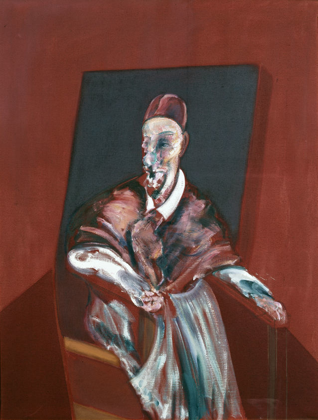 Seated Figure (Red Cardinal), 1960