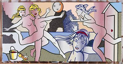 Beach Scene with Starfish, 1995 By Roy Lichtenstein
