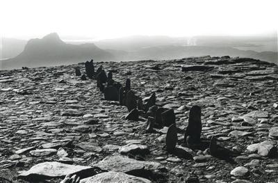 A Line in Scotland, 1981 By Richard Long