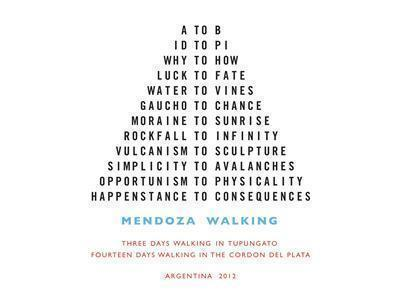 Mendoza Walking, 2012