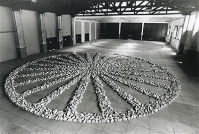Circle of Life, 1997 By Richard Long