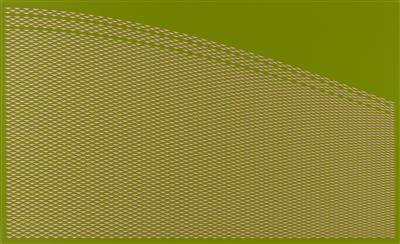 Field, Green & Pink, 2011 By Tess Jaray