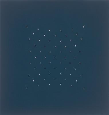 Rain Dark Grey, 2007 By Tess Jaray