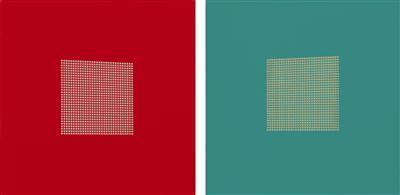 After Malevich 3 & 10 pair, 2012 By Tess Jaray