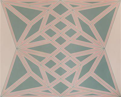At Six O'clock, 1966 By Tess Jaray