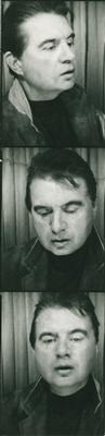 Photo booth strip of Francis Bacon, Aix-en-Provence, 1967 By Francis Bacon