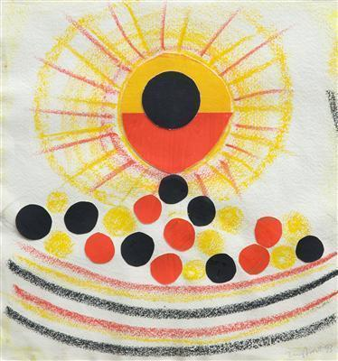 Sun and Olives, 1993 By Terry Frost