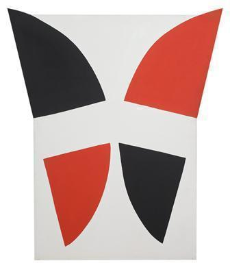 Red, Black and White Movement, 1968  By Terry Frost