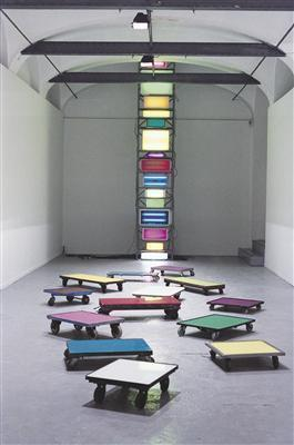 Electric Colour Tower 2, 2000 By David Batchelor