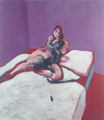 Portrait of Henrietta Moraes, 1963 By Francis Bacon