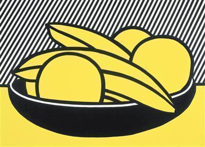 Bananas and Grapefruit I, 1972 By Roy Lichtenstein