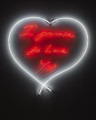I promise to Love You, 2010 By Tracey Emin