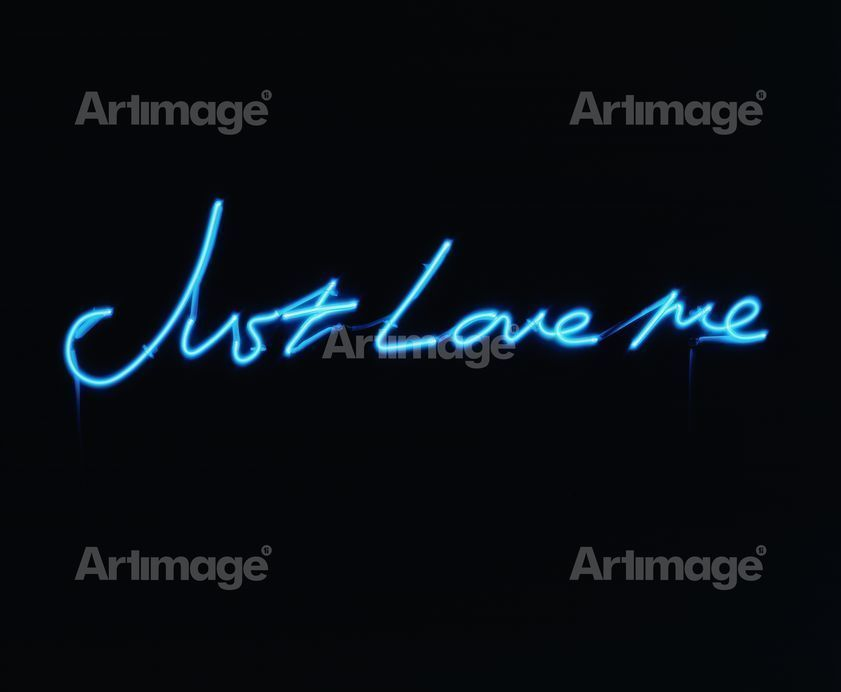 Enlarged version of Just Love me, 2001