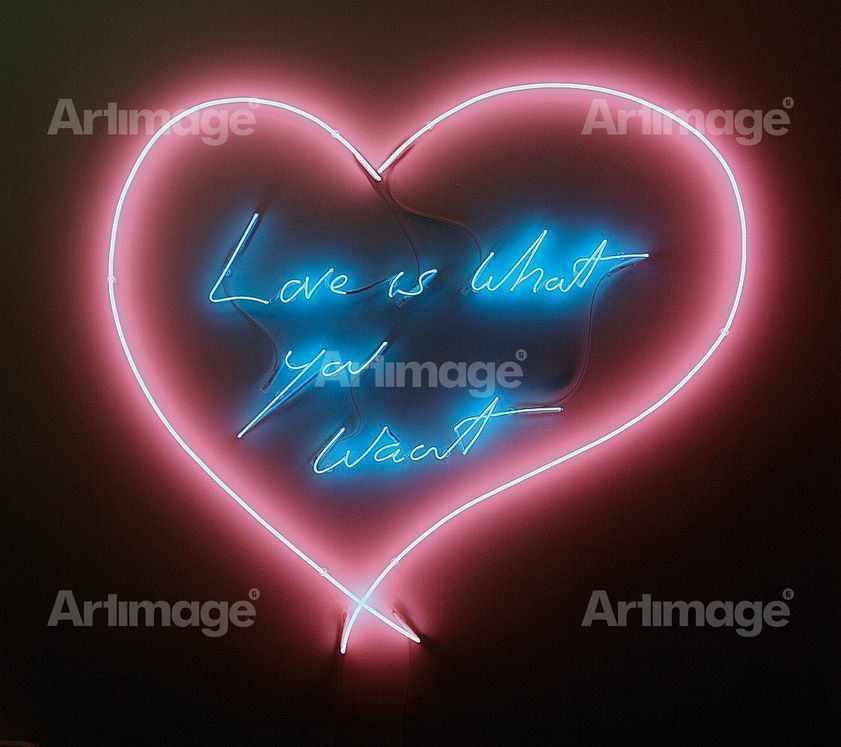 Enlarged version of Love is What you Want, 2011