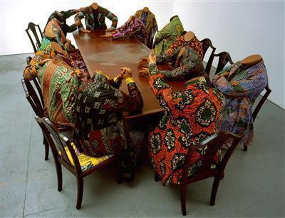 Scramble for Africa, 2003 By Yinka Shonibare MBE