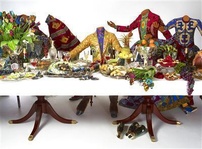 Last Supper (after Leonardo), 2013 (detail)  By Yinka Shonibare MBE