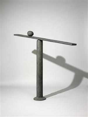 Tall Balance, 1992 By William Turnbull