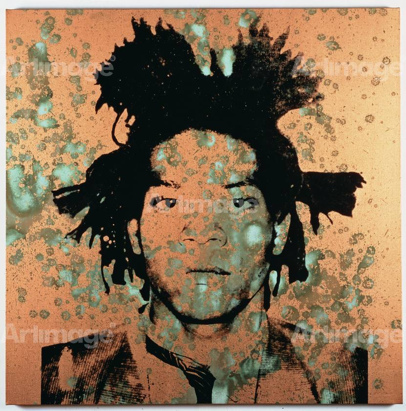 Enlarged version of Jean-Michel Basquiat, 1982