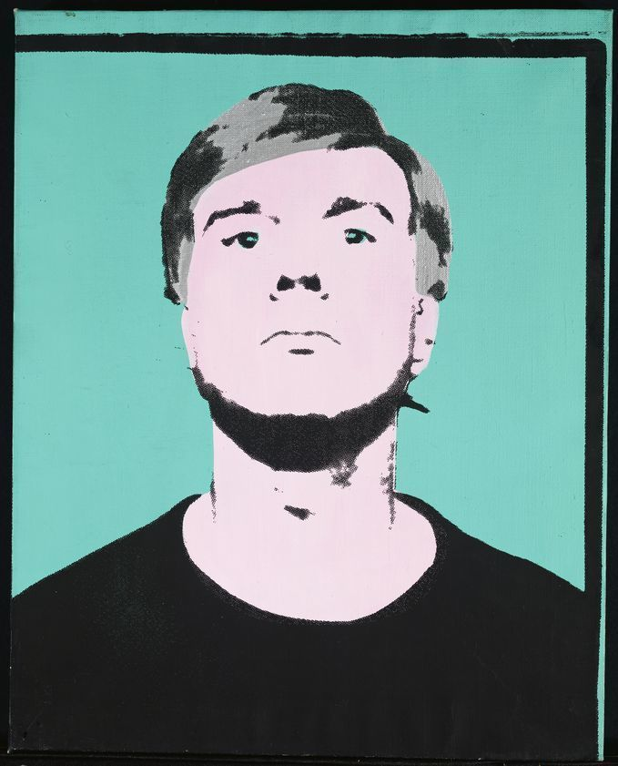 Fabulous Self-Portrait, 1964 : Andy Warhol : Artimage FW33