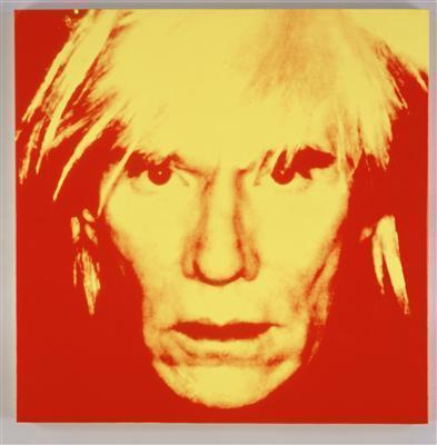 Self-Portrait, 1986 By Andy Warhol