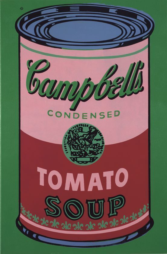 Colored Campbell's Soup Can, 1965