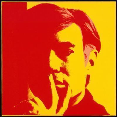 Self-Portrait, 1966 By Andy Warhol