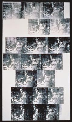 White Disaster (White Car Crash 19 Times), 1963 By Andy Warhol