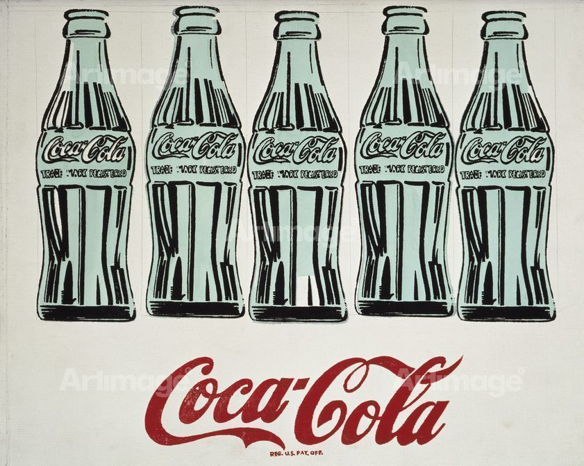 "alt=""Five Coke Bottles, 1962"""