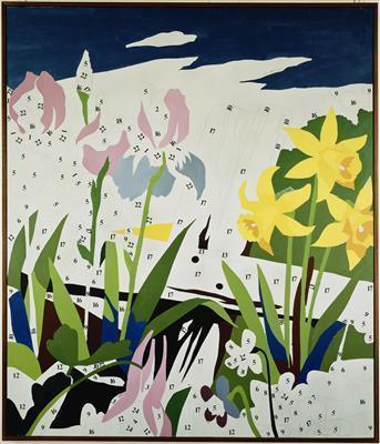 Do It Yourself (Flowers), 1962 By Andy Warhol