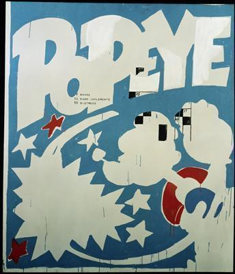 Popeye, 1961 By Andy Warhol