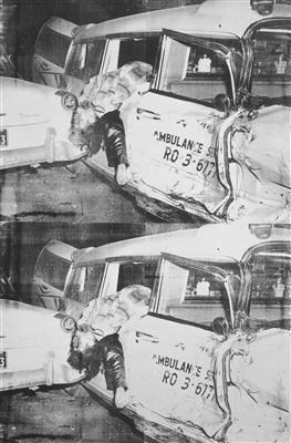 Ambulance Disaster, 1964 By Andy Warhol
