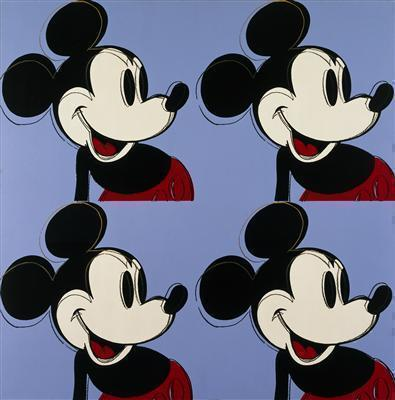 Myths: Mickey Mouse, 1981 By Andy Warhol