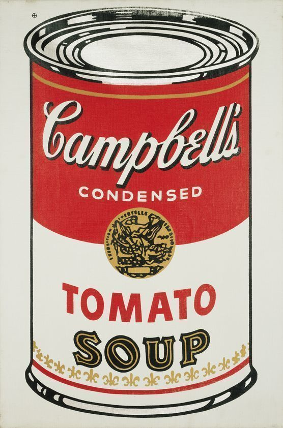 campbell 39 s soup can tomato 1964 andy warhol artimage. Black Bedroom Furniture Sets. Home Design Ideas
