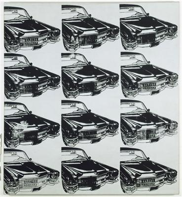 Twelve Cadillacs, 1962 By Andy Warhol