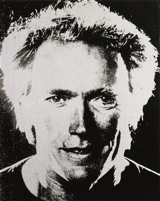 Clint Eastwood, c. 1984 By Andy Warhol
