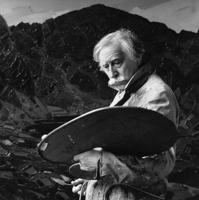 Sir Kyffin Williams, 1993 By Nicholas Sinclair