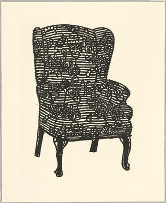 Stripey Love Chair, 2006