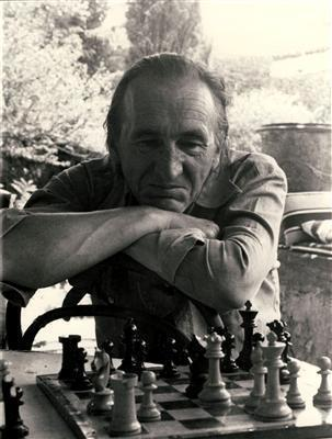 William Turnbul Playing Chess