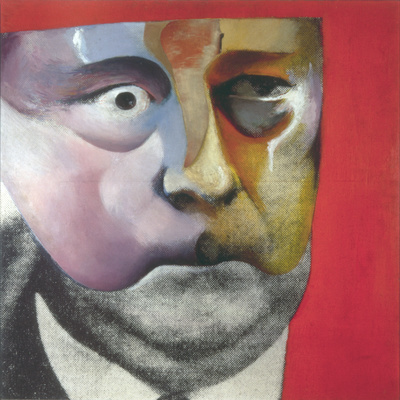Portrait of Hugh Gaitskell as a Famous Monster of Filmland, ... By Richard Hamilton