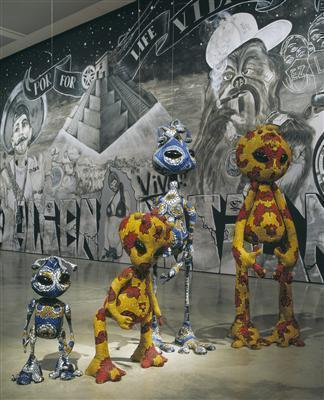 Dysfunctional Family, 1999 (Installation view, ICA, London)