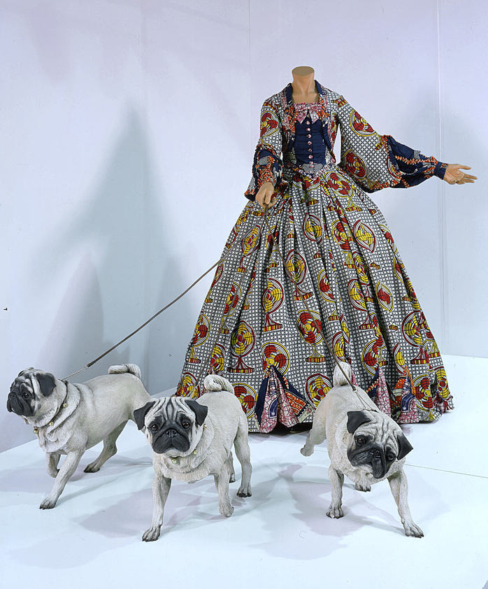 Leisure Lady (with Pugs), 2001