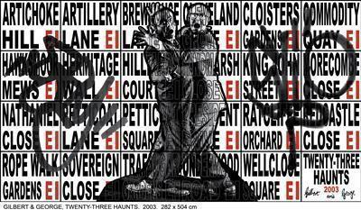 TWENTY-THREE HAUNTS, 2003 By Gilbert and George