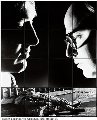 THE ALCOHOLIC, 1978 By Gilbert and George