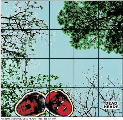 DEAD HEADS, 1989 By Gilbert and George