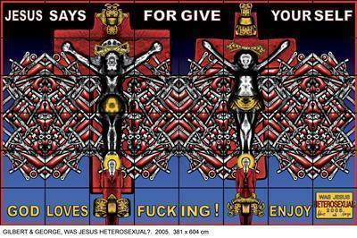 By Gilbert and George
