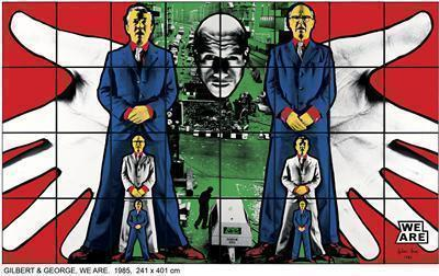 WE ARE, 1985 By Gilbert and George