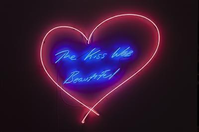 The Kiss Was Beautiful, 2013 By Tracey Emin