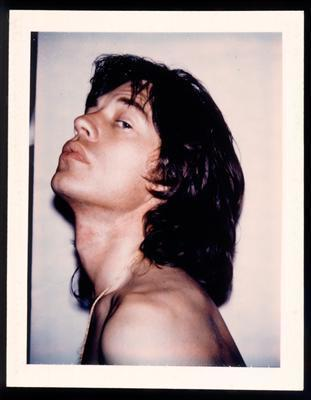 Mick Jagger, 1975  By Andy Warhol
