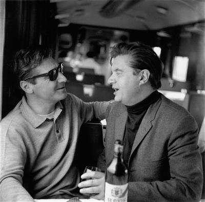 Francis Bacon and George Dyer on the Orient Express to Athen...