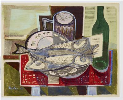 Still Life with Herrings, 1950